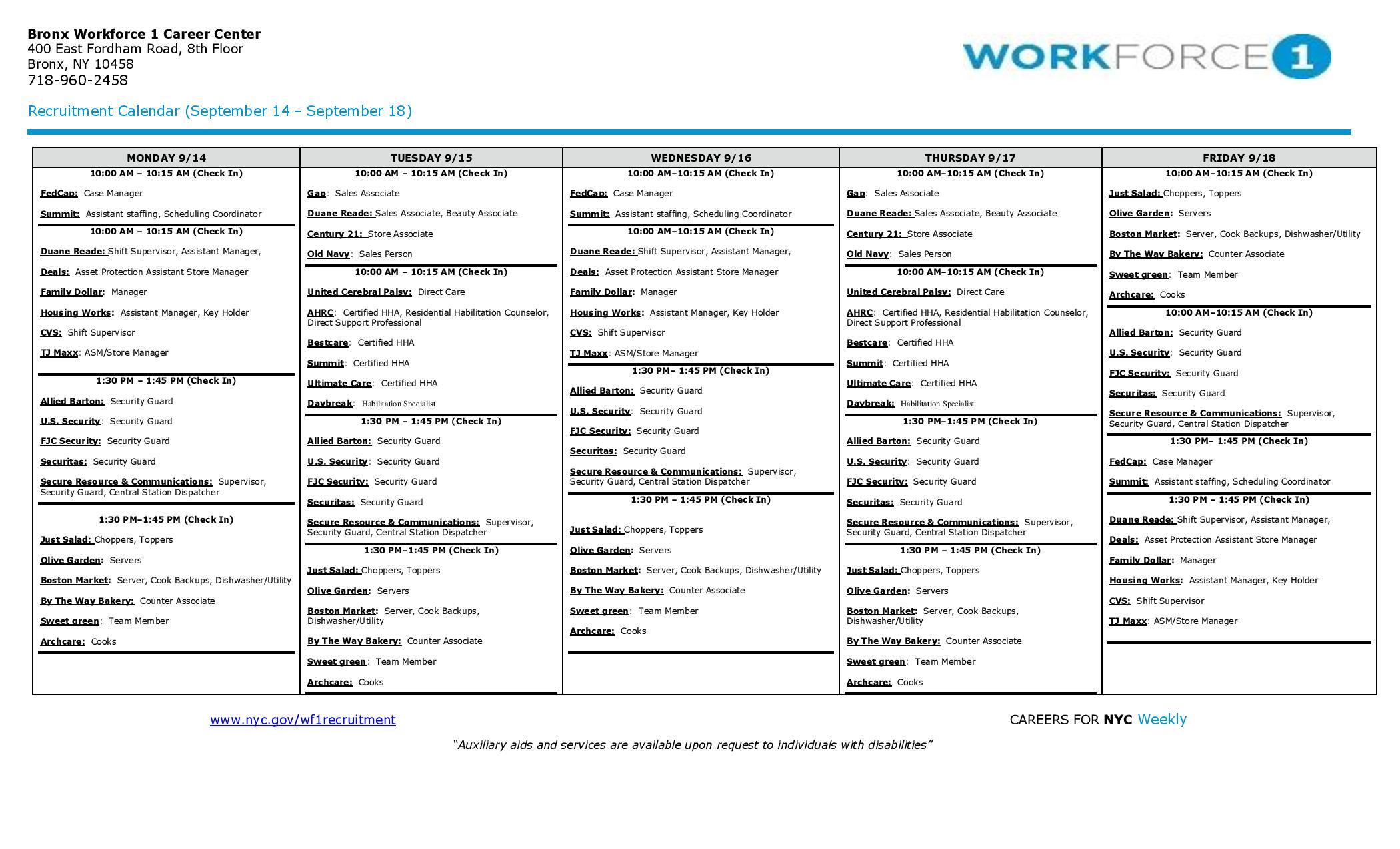 Jobs | New York City Council Member Fernando Cabrera | Page 4